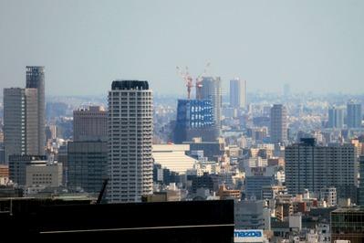 世界貿易センタービルから東京スカイツリー