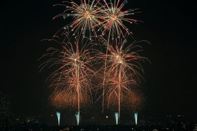 第40回江戸川区花火大会・第31回市川市民納涼花火大会