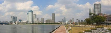 豊洲公園からの眺め