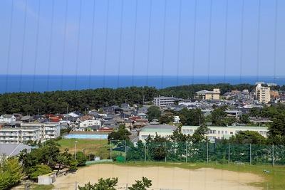 日本海タワーから見た日本海
