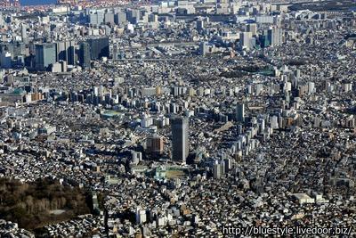 パークシティ武蔵小山 ザ タワーの空撮