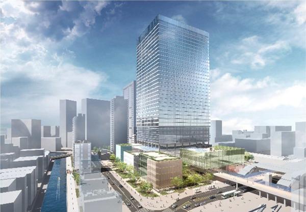 東京工業大学田町キャンパス土地活用事業 複合施設 A・複合施設 B(完成予想イメージ)