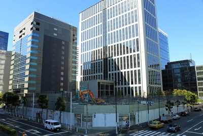 (仮称)はとバス港南ビル・港南一丁目市街地住宅の共同建替事業