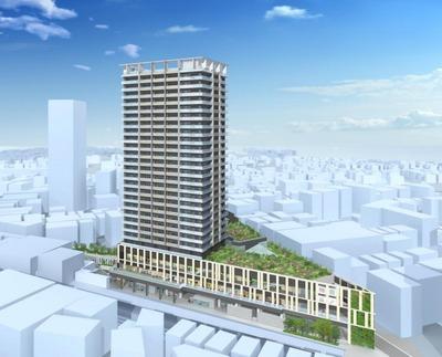 大泉学園北口地区第一種市街地再開発事業 イメージパース