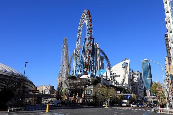 東京ドームシティ ラクーアとパークコート文京小石川 ザ タワー