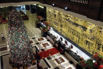 広州の花園酒店(Garden Hotel)のフロント