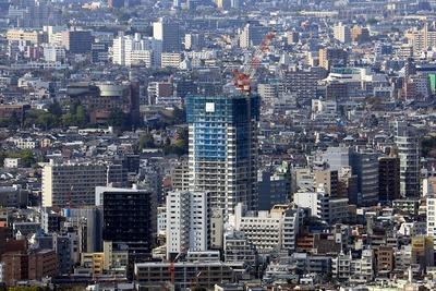 オペラシティから見たクラッシィタワー東中野