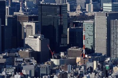東京スカイツリーから見た大手町