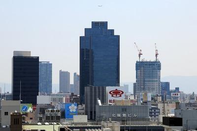 グランフロント大阪からの眺め