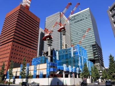読売新聞東京本社ビル(2012年8月5日)