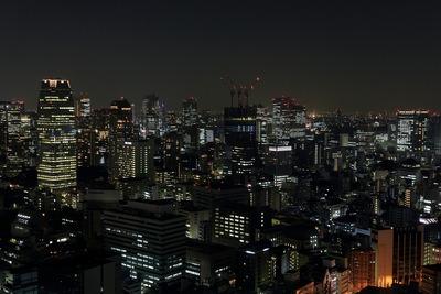 虎ノ門方面の夜景