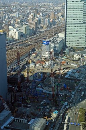 名古屋駅前の再開発