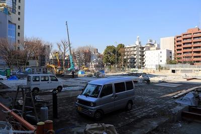 渋谷区仮設第二・三庁舎の建設地