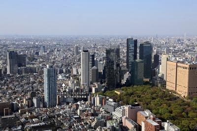 オペラシティから西新宿の眺め