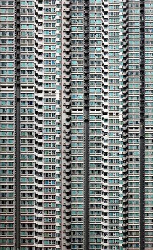 香港の超高層マンション