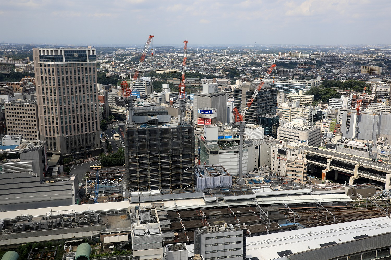 高さ約132m「(仮称)横浜駅西口開...