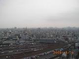 ロイヤルパークスタワー南千住のスカイラウンジからの眺め