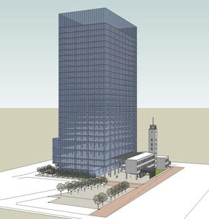 川崎市新本庁舎整備事業 完成イメージ図