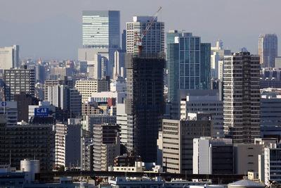 ホテル グランパシフィック LE DAIBAから見た東京ベイシティタワー