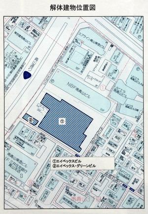 エイベックスビルの位置図