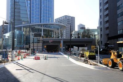 環状2号線の虎ノ門側の出入口