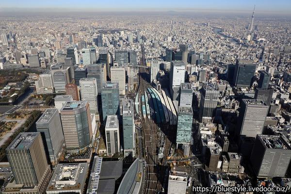 TOKYO TORCH(トウキョウ トーチ)の空撮