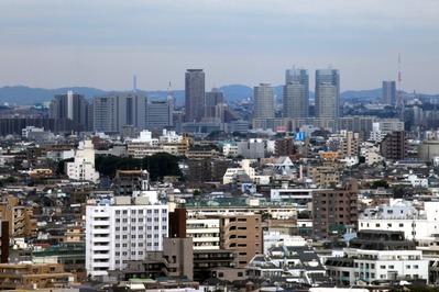 中目黒アトラスタワーから新川崎方面