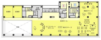渋谷区新庁舎 15階【区民交流ゾーン】