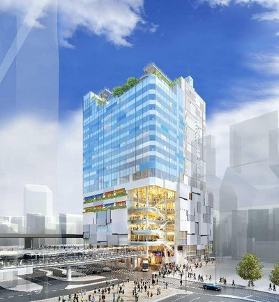 道玄坂一丁目駅前地区第一種市街地再開発事業