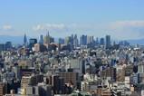 アサヒビールタワーから新宿方面