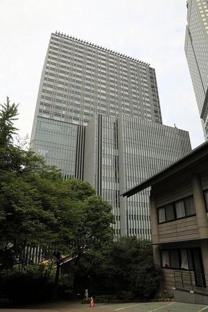 山王日枝神社から見る東急キャピトルタワー