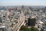 高崎市庁舎からの眺め
