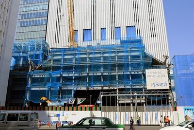 歌舞伎座の建替え(仮称)KS計画新築工事