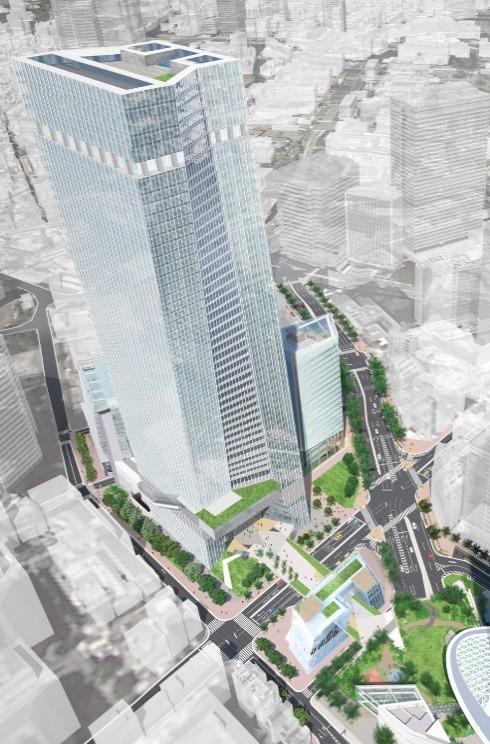 虎ノ門一・二丁目地区第一種市街地再開発事業