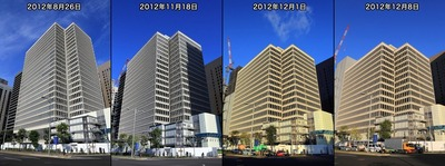 りそなマルハビルの解体工事