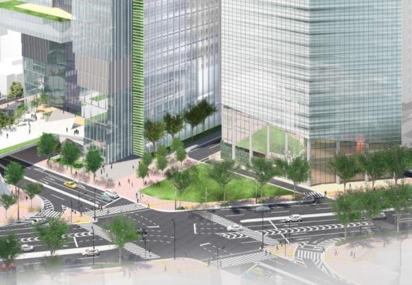 虎ノ門一・二丁目地区第一種市街地再開発事業 A-4街区
