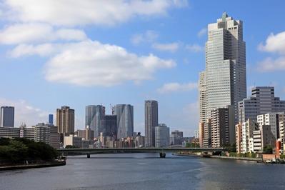 中央大橋からの眺め