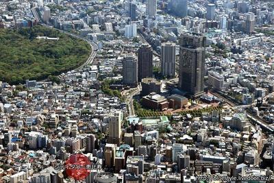 シティタワー恵比寿 建設地の空撮