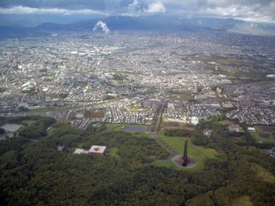 空撮 札幌市厚別区