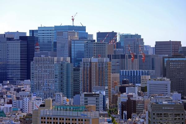 大手町の超高層ビル群
