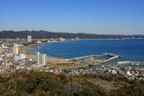 魚見塚展望台からの眺め