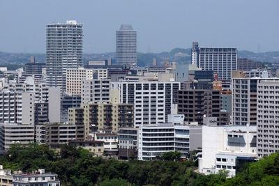 仙台城跡からの眺め