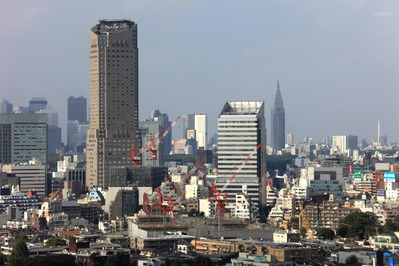 中目黒アトラスタワーから渋谷方面