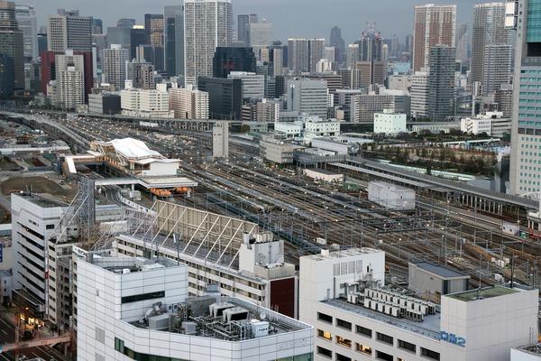 SHINAGAWA GOOS(シナガワ グース)からの眺め