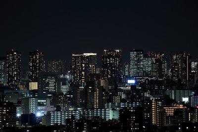 豊洲・晴海方面の夜景