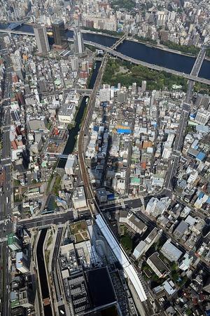 東京スカイツリー 天望回廊からの眺め