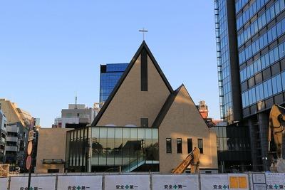 飯田橋サクラパークの教会