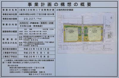 (仮称)小杉町二丁目開発計画 事業計画の構想の概要