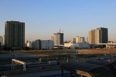 有明駅からの眺め