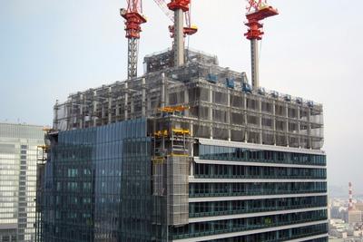 丸ビルから見たJPタワー
